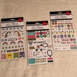NWT! Over 800 Planner Stickers